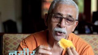 Download Naseeruddin Shah informal on Gulzar's Mirza Ghalib in Urdu Studio with Manish Gupta Video