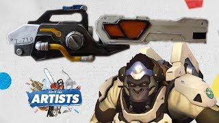 Download Winston's Tesla Gun - Overwatch - AWEme Artists Video
