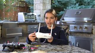 Download Eachine EV100 FPV Goggles Review Video