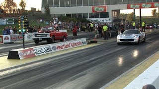 Download 1/4 MILE Street Car DRAG RACING - Street Car Takeover Video