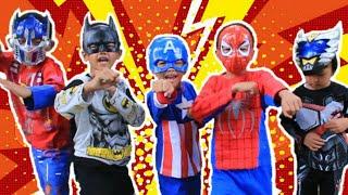 Download mainan anak kostum superhero & surprise egg-Drama superhero[]Little princess Rara Video
