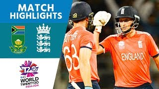 Download ICC #WT20 - South Africa vs England - Match Highlights Video