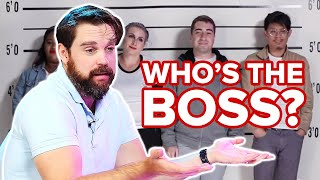 Download Private Investigators Guesses Who's the Boss Out Of A Lineup Video