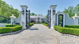 Download An Opulent French Estate in Alpine, New Jersey Video
