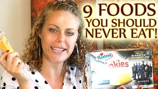 Download 9 Foods to NEVER EAT!! Worst Foods & Alternatives, Weight Loss Tips, Nutrition, Easy Diet Video