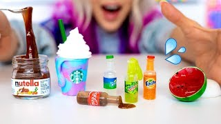Download Making The SMALLEST Slime In The World! How To Make DIY Miniature Food Slime Video