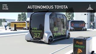 Download E-Palette - Toyota Autonomous Vehicle at CES 2019 Video