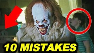 Download 10 BIGGEST MISTAKES in ″IT″ ( 2017 ) - 99% couldn't find the mistake Video