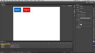 Download Creating Buttons / Navigation in Adobe Flash CC Video