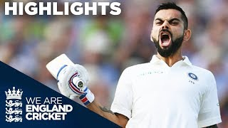 Download Virat Kohli Scores 1st Test Century In England | England v India 1st Test Day 2 2018 - Highlights Video