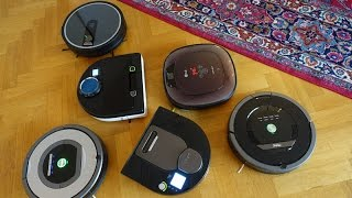 Download Review: 6 robotic vacuum cleaners (english subtitles) Video