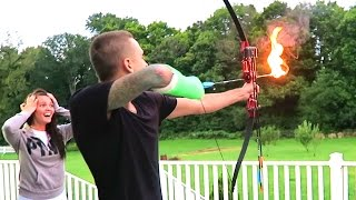 Download CRAZY FLAMING ARROWS!! Video