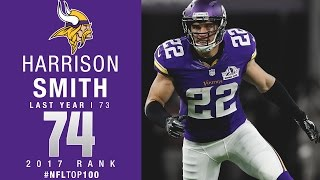 Download #74: Harrison Smith (S, Vikings) | Top 100 Players of 2017 | NFL Video