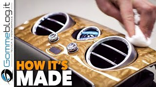 Download Bentley INTERIOR - WOOD CAR FACTORY + How IT Made the BEST Luxury Manufacturing Video