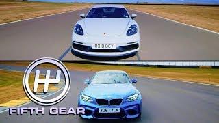 Download Porsche 718 Cayman GTS VS BMW M2 Shootout | Fifth Gear Video