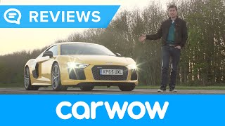 Download Audi R8 V10 Plus Supercar 2017 review | Mat Watson Reviews Video
