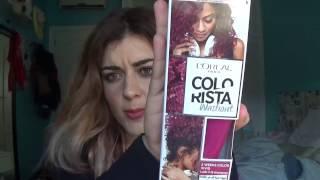 Download Mi mala experiencia con el tinte COLORISTA WASHOUT de Loreal. Video