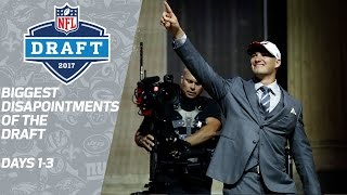 Download Biggest Disappointments of the 2017 NFL Draft | NFL Network Video