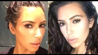 Download Kim Kardashian West How I Do My Own Makeup Video