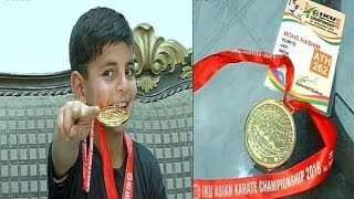 Download Kashmir's Karate Kid 'Hashim Mansoor' Wins Gold For India | Exclusive Video