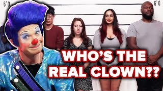 Download Clown Guesses Who's The Real Clown Out Of A Lineup Video