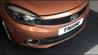 Download Tata Tigor XZ Top Model Interior and Exterior Walkaround Video