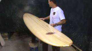 Download Balsawood Mini Mal Surfboard from Riley Balsa Surfboards Video