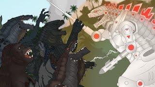 Download Кинг Конг против Годзиллы 6 - Зилла-Мехагодзилла / King Kong vs. Godzilla - Zilla-Mechagodzilla Video