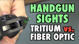 Download Handgun Sights: Tritium vs. Fiber Optic Video