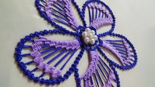 Download Hand Embroidery: Flower Embroidery Video