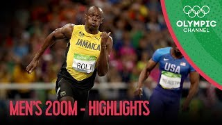 Download Usain Bolt wins third Olympic 200m gold Video