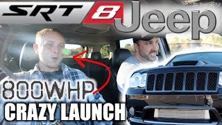 Download 800HP SRT8 JEEP CRAZY Launch Faster than a Trackhawk Video