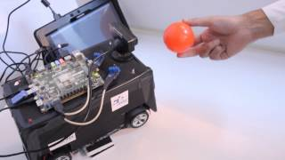 Download FPGA based robot detecting and traking object Video