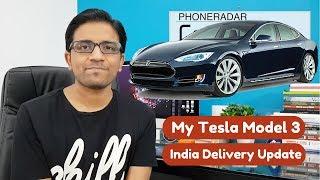 Download Hindi - Tesla Model 3 in India Delivery Update - PhoneRadar Video