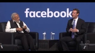 Download PM Narendra Modi at Facebook Townhall with Mark Zuckerberg | Full Interview Video
