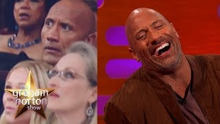 Download Dwayne 'The Rock' Johnson Almost Laid The Smackdown At The Oscars   The Graham Norton Show Video