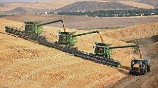 Download Getreideernte Extrem | Mähdrescher u. Traktoren v. Claas | New Holland | Fendt | John Deere Video