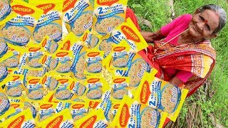 Download Maggi Noodles Cooking By Our Grandma    Myna Street Food Video