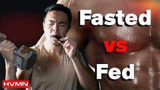 Download Fasted vs. Fed Exercise: Which Should You Do? [SCIENCE + BEST TIPS] · Study Analysis Video