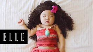 Download This Napping Baby is Taking the Internet by Storm | ELLE Video