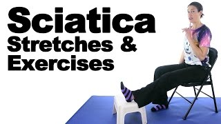 Download Sciatica Stretches & Exercises - Ask Doctor Jo Video