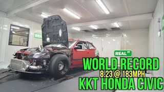 Download KKT World Record - World's Quickest Sport Front Wheel Drive - Atco Dragway, NJ 2016 Video