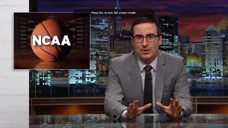 Download The NCAA: Last Week Tonight with John Oliver (HBO) Video