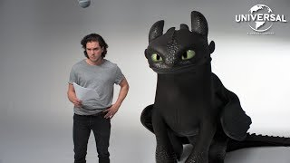 Download HOW TO TRAIN YOUR DRAGON: THE HIDDEN WORLD | Kit Harington and Toothless' Lost Audition Tapes Video