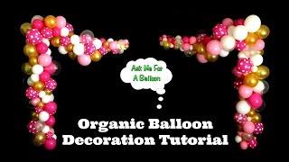 Download Organic Balloon Decoration Tutorial Video