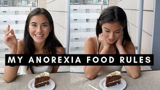 Download Challenging 5 Anorexia Food Rules | Eating Disorder Recovery Video