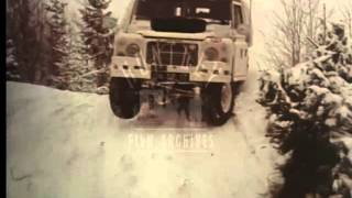 Download Military Vehichle on Snow Trials, 1970's - FIlm 17722 Video