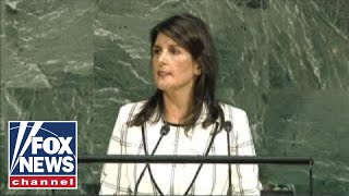 Download Nikki Haley speaks at the United Nations General Assembly Video
