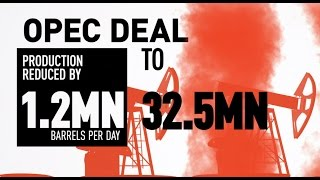 Download Historic deal: Non-OPEC countries agree to cut oil production by 558,000 barrels per day Video