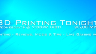 Download 3D Printing Tonight #018 - Unboxing Mosaic Palette! & Special Guest Make Anything Video